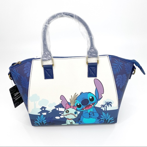 Loungefly Disney Lilo & Stitch Dark Satchel Bag